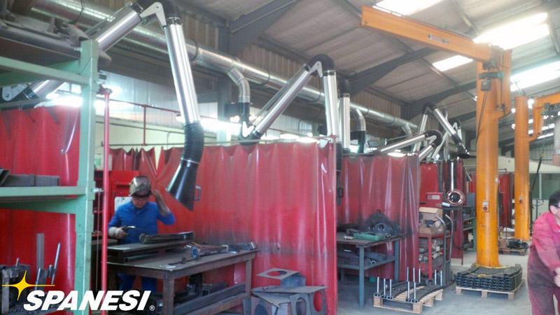 Welding Smoke Extraction