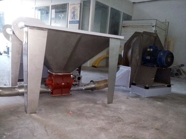 Pneumatic Storage and Transport Silo